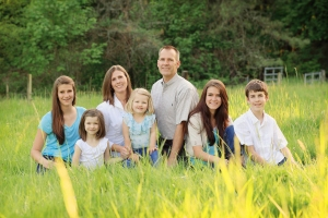 Derek Reynolds Family